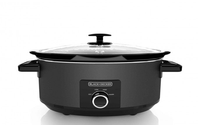Black + Decker 7 Quart Chalkboard Slow Cooker