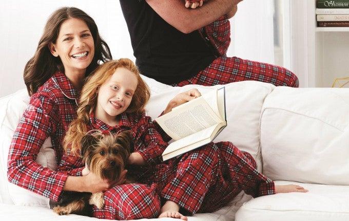 Karen Neuberger family pjs
