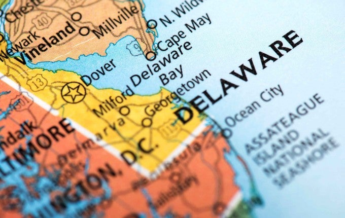 Delaware had one of the highest foreclosure rates last month.