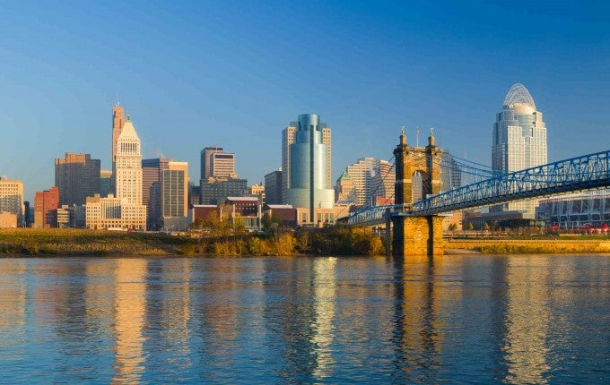 3rd Most Affordable City (Tie): Cincinnati, Ohio-Kentucky-Indiana, U.S.