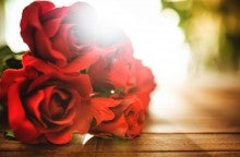 The cost of red roses for Valentine's Day keeps going up.
