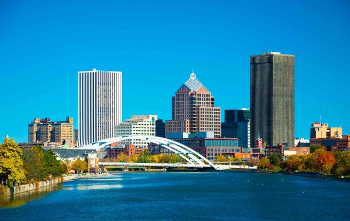 Most Affordable City: Rochester, New York, U.S.