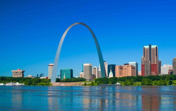 6th Most Affordable City (Tie): St. Louis, Missouri-Illinois, U.S.