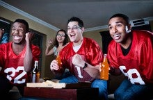 Here's how to throw a Super Bowl party with food on a budget.