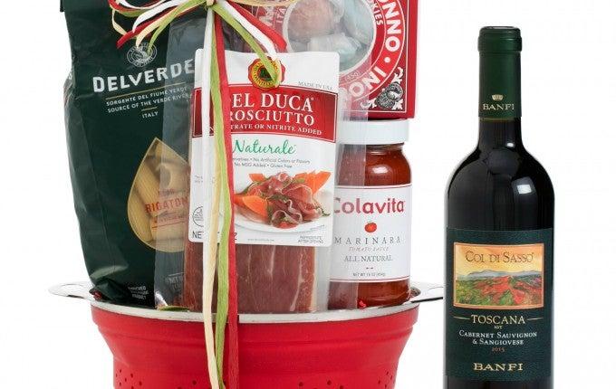 Wine.com Tuscan Trattoria Italian Wine Gift Basket
