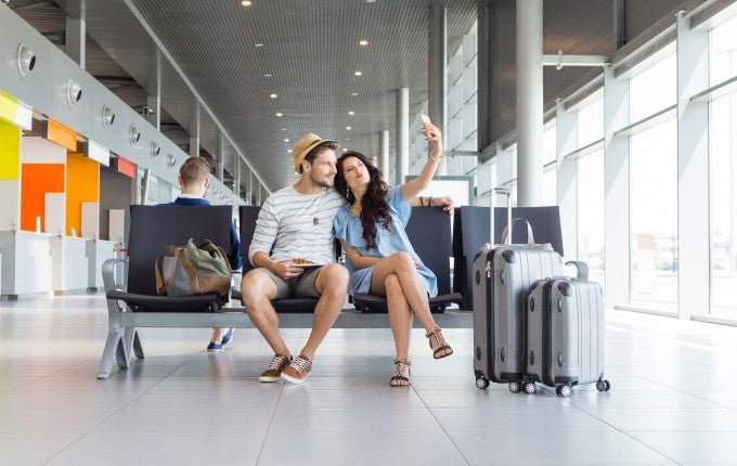 traveling with co-branded credit cards