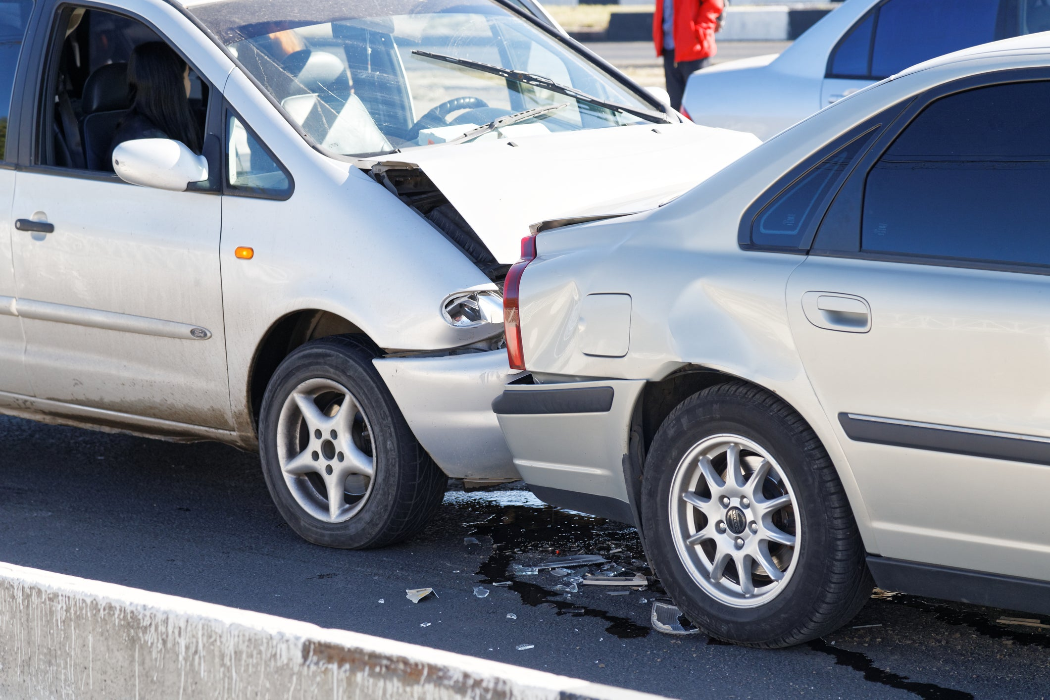 car accident will affect victim's credit score