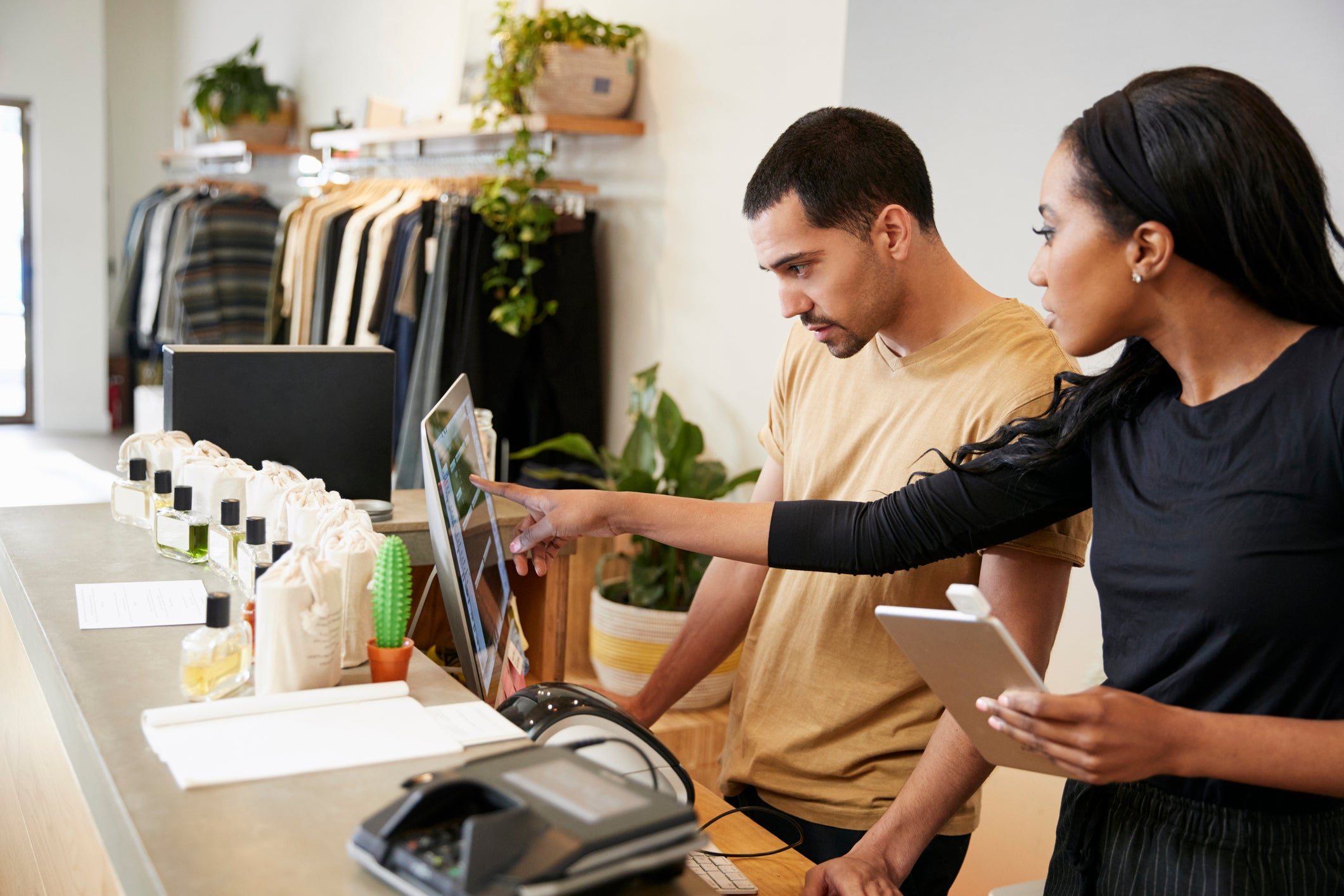 small business owners apply for micro loans