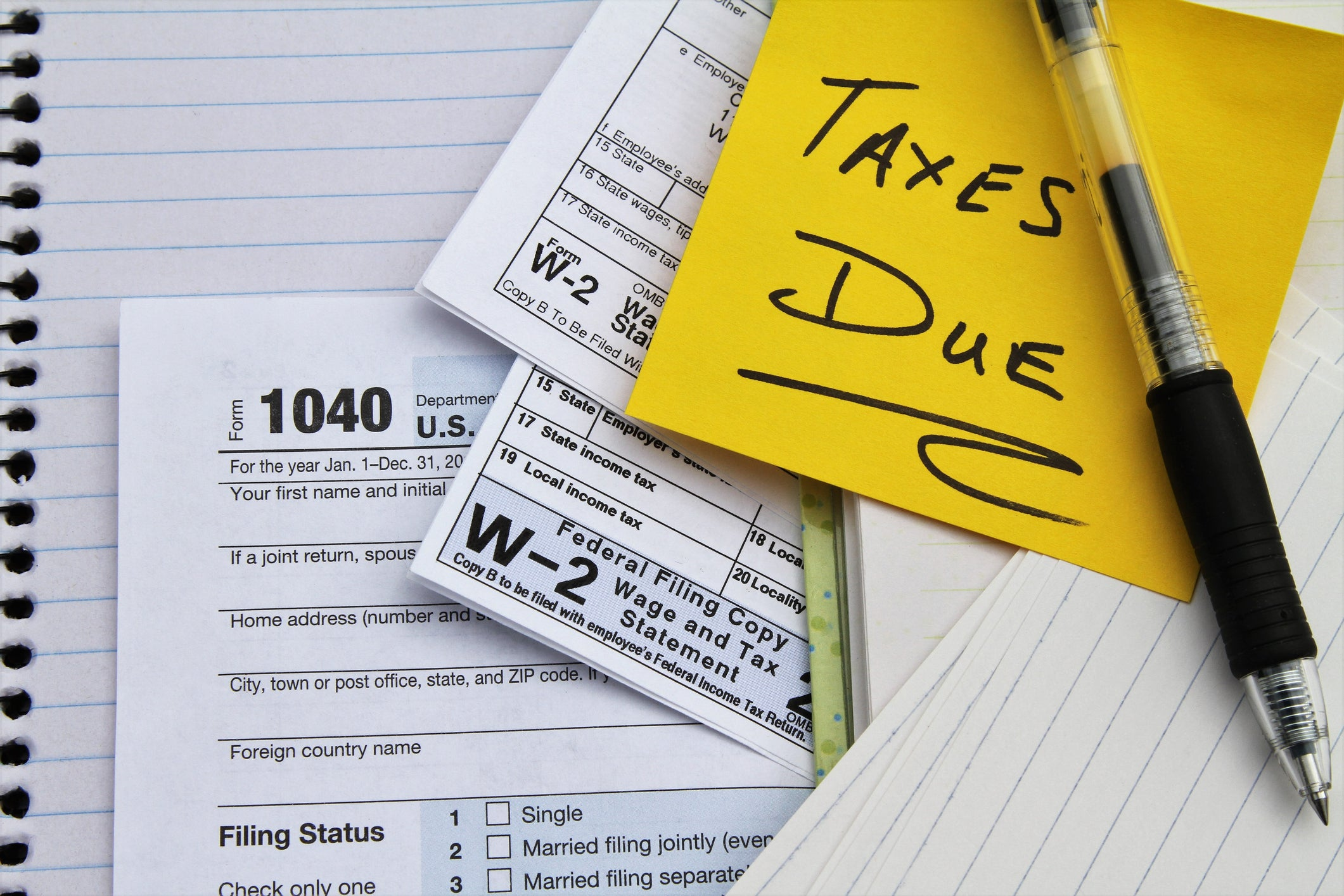 what you should do when you have unfiled tax returns