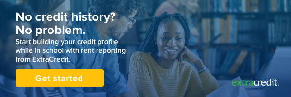 ExtraCredit, No Credit History? No Problem. Build credit by reporting rent and utilities.