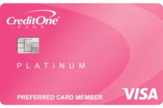 Credit one bank credit card account number