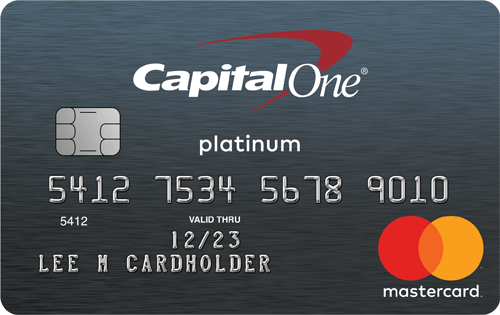Capital One® Secured Mastercard® card image