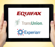 The three major credit reporting agencies are Equifax, Experian, and Transunion.
