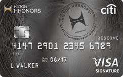 Citi Hilton Reserve Credit Card