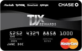 TJX Rewards Platinum MasterCard