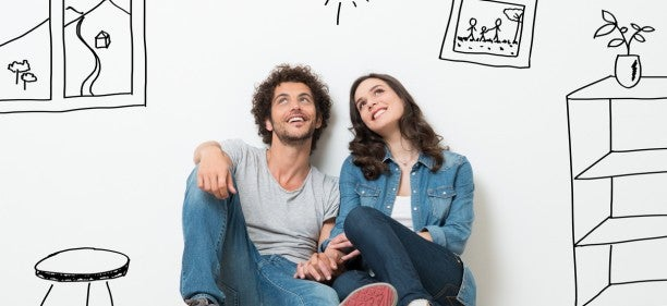 couple contemplating what they can do when they refinance mortgage