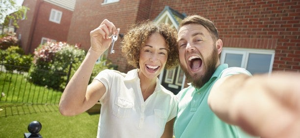 first time buyer selfie